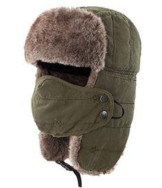 90aa7434b06 Best Seller Connectyle Warm Trapper Hat Windproof Winter Russian Hats Mask  Ushanka Hat online