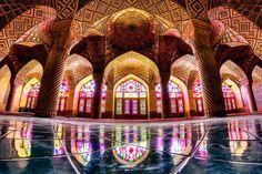 Masjid Nasir Al-Mulk, Shiraz Iran by Mohammad Reza Domri Ganji