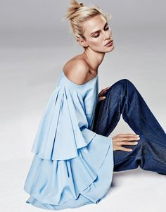 shirt tales: aymeline valade by alique for the edit by net-a-porter 21st january 2016   visual optimism; fashion editorials, shows, campaigns & more!
