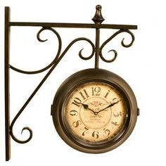 scrolling wallmount hanging clock with an design product wall