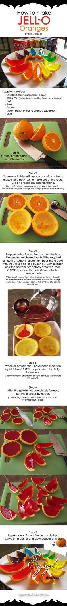 Naranjas de jaleas... el tutorial esta en ingles pero se entiende con las imágenes :D