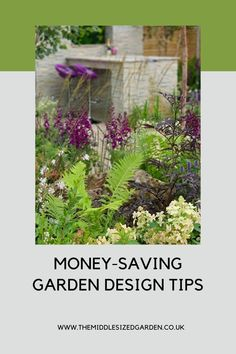 If you're doing a garden makeover, don't miss these thrifty tips. Where to spend money on garden design and how to save it #middlesizedgarden Low Maintenance Garden Design, Shed Base, Concrete Path, Garden Makeover, Large Pots, Colorful Garden, Garden Styles, Garden Planning, Saving Money