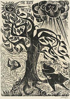 Antonio Frasconi, woodcut