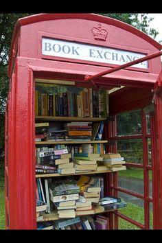 Super idée de troc de livres.
