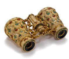 Gold and Multi-Gem Opera Glasses, Fred Leighton
