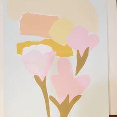 'Soft Mornings' acrylic on 640gsm Fabriano paper #originalpainting