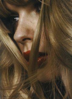 freckles//lipstick