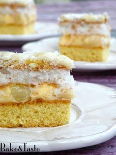 Bake&Taste: Ciasto Piña colada