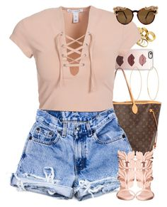 """""""Untitled #1560"""" by power-beauty ❤ liked on Polyvore featuring Casetify, Lana, Louis Vuitton, NLY Trend and Giuseppe Zanotti"""