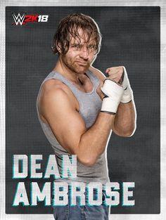 WWE 2K18 roster art