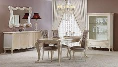 7 white dining room decoration