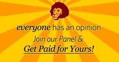 Join SurveyLion and Make Your Opinions Roar    http://womenfreebies.ca/rewards/loyalty-program/join-surveylion/