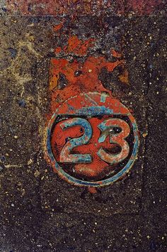 another rusty 23 - Image was sold and is no longer available to view. Rust Never Sleeps, Peeling Paint, Rusty Metal, Art Abstrait, Alphabet And Numbers, Textures Patterns, Illustrations, Cool Pictures, Give It To Me
