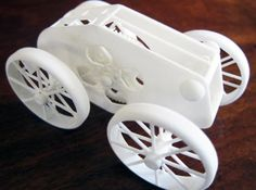 3ders.org - Fun and clever wind-up toy 3D printed in one piece, no assembly required | 3D Printer News & 3D Printing News