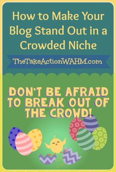 Join us for today's Blog Workshop - How to Make Your Blog Stand Out in a Giant Niche  #blogtips #blogworkshop