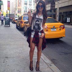 New York kind of Day! ❤️ #ootd #details - @makeupbycamila- #webstagram