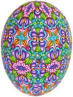 blue-red-purple egg, via Flickr.
