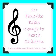 bible songs for preschool