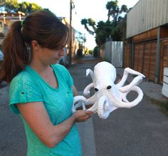Paper Mache Octopus Craft DIY                                                                                                                                                                                 More