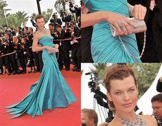 Milla Jovovich - Cannes 2008