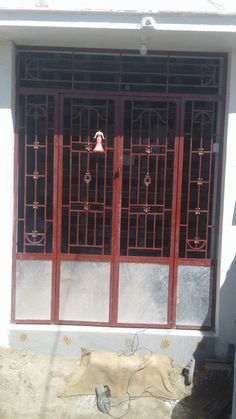 Iron Gate for safety Safety Gates, Iron Gates, Gate Design, Grills, Home Decor, Decoration Home, Security Gates, Room Decor, Interior Design
