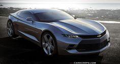 Future Cars: Chevrolet's 2016 Camaro Coupe - Carscoops