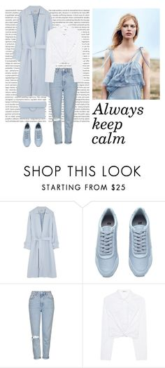 """Calmness"" by dorey on Polyvore featuring Temperley London, Topshop, T By Alexander Wang and Roksanda"