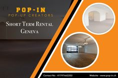 If you are planning to open a store in Geneva for short-term on rent or searching for a perfect place to start your business, then you should visit Pop-in. Book a space now!