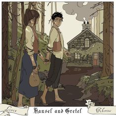 The children might have lost their way, but whoever they matched wits with, they were able to save each other. HANSEL AND GRETEL #shadowhunters #fairytales #mashup #cassandrajean