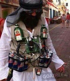halloween terrorist kostüm
