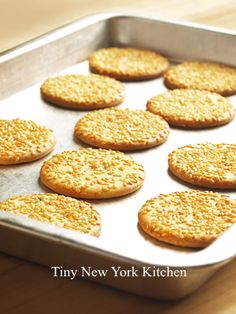 http://www.tinynewyorkkitchen.com/recipe-items/tahini-cookies/