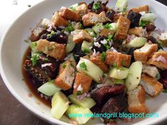 Reel and Grill: Tokwa't Isda (Fish and Tofu  in Sweet Vinaigrette)...