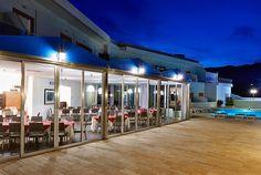 esterno nuovo ristorante Hotel La Battigia Alcamo Marina