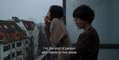 """― On the Beach at Night Alone (2017) """"I'm the kind of person who needs to live alone."""" #ithinkthereforesowhat"""