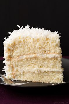 Coconut Cake - this is hands down the BEST coconut cake I've ever had!! It has gotten great reviews, you can read them below the recipe. Recipe by @cookingclassy