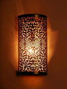 Lovely Moroccan Brass Wall Light Sconce And Its Fine Openwork Pattern Moroccan Decoration Buy Moroccan Wall Light wall Lamp Product on Alibaba