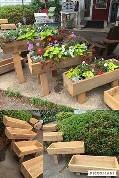 easy healthy breakfast ideas on the good day song Pallet Projects Signs, Pallet Ideas, Wood Projects, Garden Planters, Herb Garden, Wood Plant Stand, Plant Stands, Auction Ideas, Lawn Care