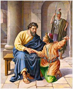 Paul in prison Acts 23:12-22