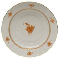 Quintessentials - Tabletop, Linens, and Gifts : Online Catalog. Chinese Bouquet Rust/Herend.