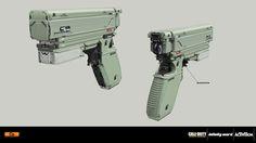 ArtStation - Call of Duty: Infinite Warfare - VR weapons, Nenad Gojkovic