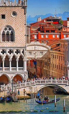 Venice, Italy Only word to describe this city-BEAUTIFUL