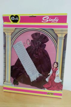 1982 Sindy doll boxed fashion clothes 'Evening Dress'stole & necklace,ref 44379 | eBay