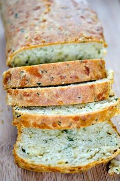Cheddar And Parsley Beer Added Parsley Sugar And Strong Flovoured Cheese To Basic Beer Bread Recipe