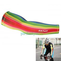 Cycling Bike Running Skin Arm Sleeve Cover Warmers UV Sun Protection Oversleeves #UnbrandedGeneric