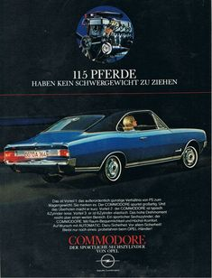 Opel Commodore A Coupe 1967–1971   pin by scann R