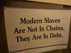 modern slave ...