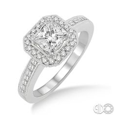 Parkers\ Karat Patch Jewelers - I Do Collection: Diamond Engagement Ring - [19071FVWG-LE]