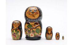 Matryoshka nesting doll hedgehog Free shipping Worldwide   ArtMatryoshka - Collectibles on ArtFire