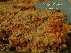 Unstuffed Pepper Casserole http://www.momspantrykitchen.com/unstuffed-pepper-casserole.html