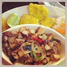 Garlic Octopus - Nicaragua